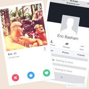 Photos retrieved from Tinder.com and Facebook.com